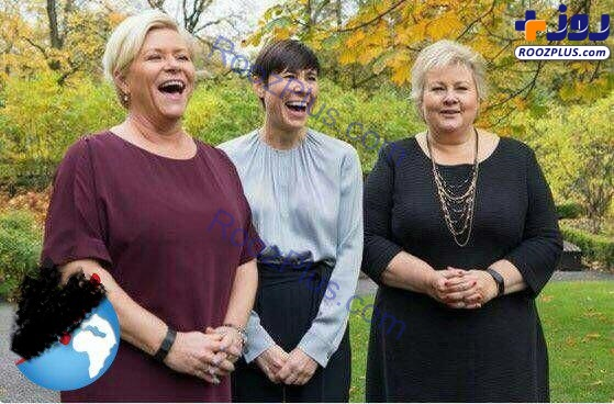 عکسی جالب از سه زن عالیرتبه سیاسی در نروژ