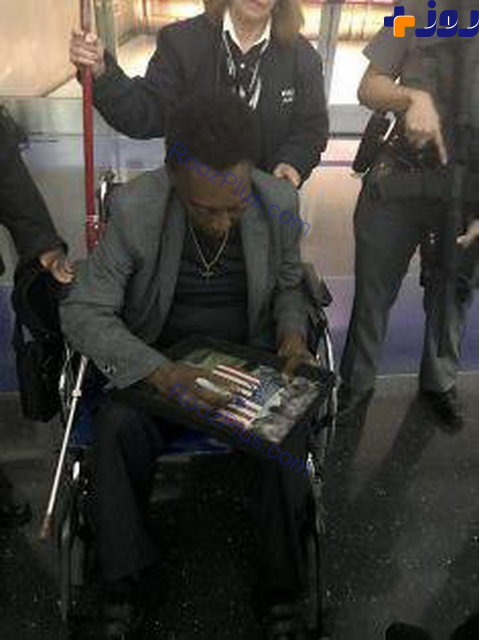 فوتبالیست مشهور ویلچرنشین شد! +عکس